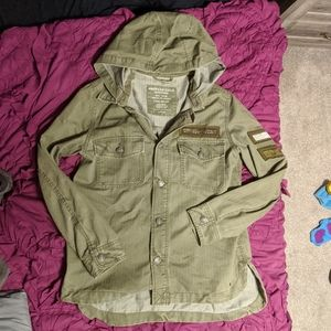 American eagle army military jacket